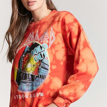 Def Leppard Band Tour Pullover