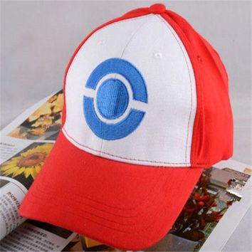 Kids Adult Pokemon Go Cosplay Cap Drake Hip Hop Pikachu Pocket Monster Bone Dad Hat Baseball Caps Charms Ash Ketchum Casquette