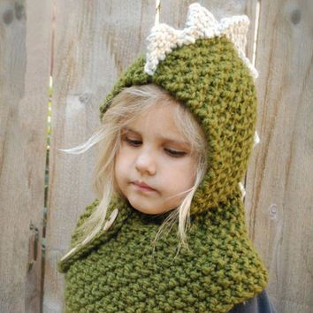 CUPUP3F Hats Children Winter Knit Lovely Scarf Bottom & Top