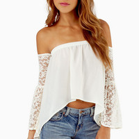 Looking for Lace Top $29