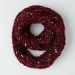 Good Night, Swoon Circle Scarf in Cranberry | Mod Retro Vintage Scarves | ModCloth.com