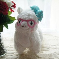 TANZK 18cm New Arpakasso Alpacasso Stuffed Plush Alpaca Animal Toys Kids Birthday Gift