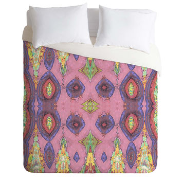 Ingrid Padilla Fancy Pink Duvet Cover