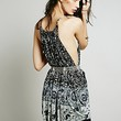 Free People Womens That Summer Night Printed Tunic