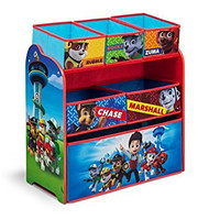 Delta Children Multi-Bin Toy Organizer, Nick Jr. PAW Patrol