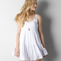 AEO LACE BACK BABYDOLL DRESS