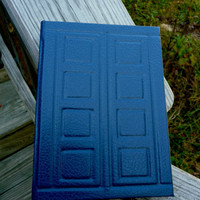 Tardis Journal of River Song Hardcover MADE TO by mistermostaccio