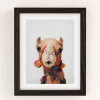 Sisi And Seb Camel Art Print | Urban Outfitters