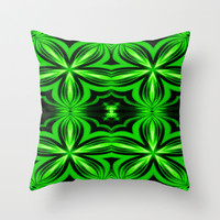 Now That's Green Throw Pillow by 2sweet4words