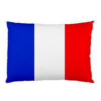 French flag Custom Pillow Case Rectangle Pillow Cases by memedia
