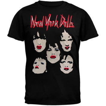 New York Dolls - Faces Subway T-Shirt
