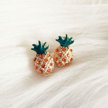 Sweet Pineapple Studs