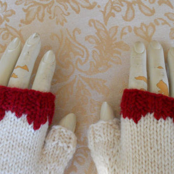 Zombie Gloves, Fingerless Gloves for the Zombie Apocalypse, Photo Prop Gloves, Zombie Costume Gloves, Halloween Costume, Geeky Gloves