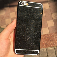 Cool Black Shining Case Cover for iPhone 5s 6 6s Plus Gift-157