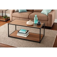 Mainstays Metro Coffee Table, Warm Ash Finish - Walmart.com