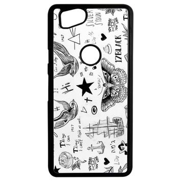 Harry Styles Tattoos Google Pixel 2 Case