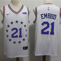 Philadelphia 76ers Joel Embiid 2018/19 Swingman Jersey – Earned Edition