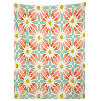 Heather Dutton Crazy Daisy Sorbet Tapestry