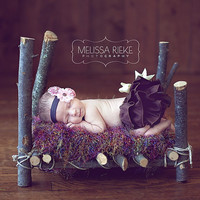 Newborn Photography Prop Bed Baby Photo Prop Newborn Photo Prop Bed