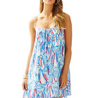 Daphne Spaghetti Strap Trapeze Dress - Lilly Pulitzer