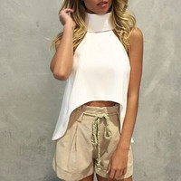 Bralette Stylish Sexy Beach Hot Comfortable Fall Style Strapless Crop Top Vest [6446685444]
