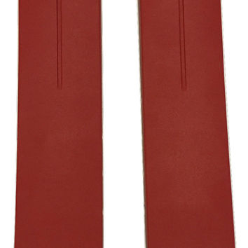 Tissot T-Touch Dark Red Rubber 20mm Strap Band for Z252/352 or Z253/353