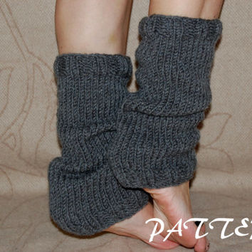 KNITTING PATTERN : Leg Warmers Pattern
