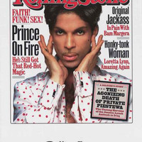Prince Rolling Stone Magazine Poster 22x34