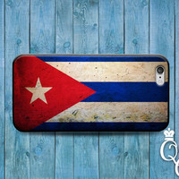 iPhone 4 4s 5 5s 5c 6 6s plus + iPod Touch 4th 5th 6th Generation Custom Cuba National Country Flag Case Cute Fun Cuban Nation Phone Cover