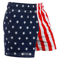 Patriotsville American Flag Shorts