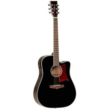 Tanglewood Winterleaf TW5DCEBK Acoustic-Electric Guitar