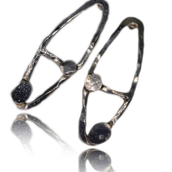 Maisie Double Dot Sterling Silver Studs