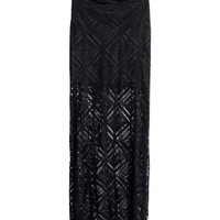 H&M - Lace Skirt - Black - Ladies