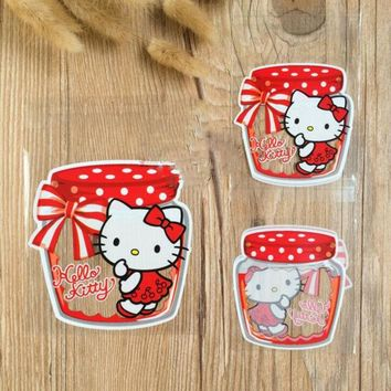 100 Pcs/set Kawaii Hello Kitty Candy Box Bag Baby Shower Favors Kids Birthday Party Supply Wedding Decoration Gift Souvenirs