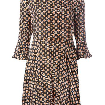 Star print fit and flare dress - View All New In - New In