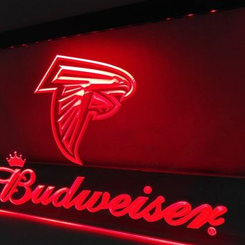 LD292- Atlanta Falcons LED Neon Light Sign   home decor  crafts