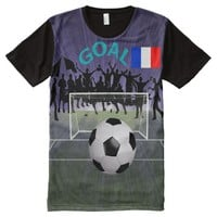 France Apparel All-Over Printed T-Shirt All-Over Print T-shirt