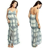 Gypsy 05 Checkerboard Maxi Dress | Tie Dye Dress