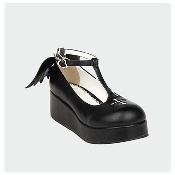 The Goth Angel Winged Platforms