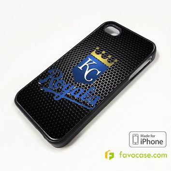 KANSAS CITY ROYALS ALCS CHAMPS MLB iPhone 4/4S 5/5S/SE 5C 6/6S 7 8 Plus X Case Cover
