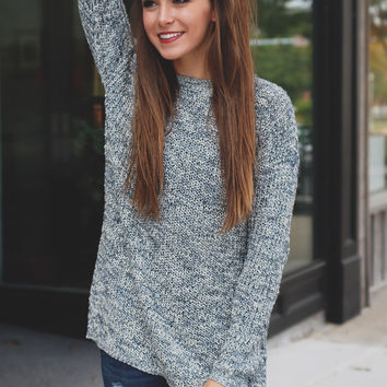 Blueberry Bliss Sweater