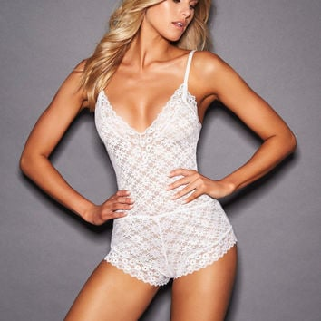 Alessandra All Over Lace Romper