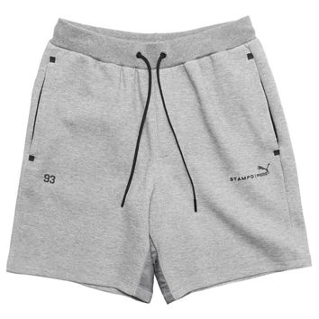 Puma x Stampd Sweatshorts (Medium Gray Heather)