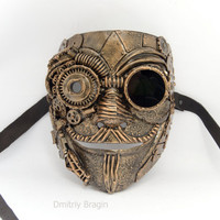 steampunk  techno phantom mascarade mask Anonymous V for Vendetta