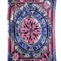 Cycle of Ages Tapestry Hippie Wall Hanging Throw Bedspread Hippy 2193