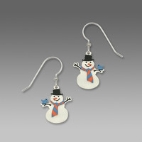 Sienna Sky Holiday Christmas Snowmen Earrings