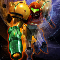 Metroid Prime Samus Aran video game poster 18x24