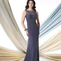 Mother of the Bride Dresses – Montage by Mon Cheri 213964 Sheer Tank