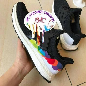 Painted Adidas,Adidas Nmd,Custom Adidas,Nmd Adidas,Custom Sneakers,Nmd Customized Men'