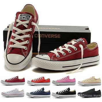 Fashion Converse Chuck Tay Lor Shoes Low Top For Men Women Casual Canvas Shoes Brand Converses Sneakers Classic Skateboarding Shoes